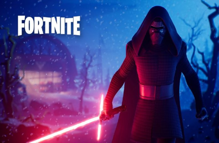 Funny Zoom Background Fortnite-Royal-Star-Wars-Lightsaber